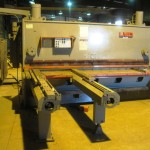 shear, power squaring: LVD 10-OH-37 hydraulic