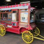 popcorn wagon: C. Cretors & Co. special model D wagon